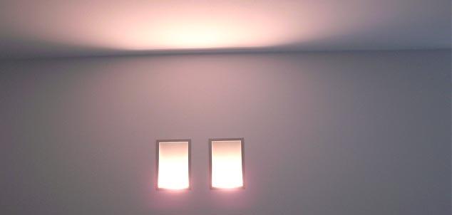 illuminazione incasso parete
