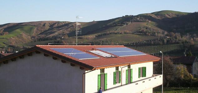 impianto fotovoltaico a Brisighella