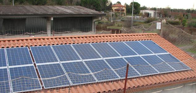 impianto fotovoltaico a Faenza