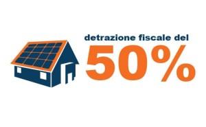 detrazione fiscale 50 impianti fotovoltaici