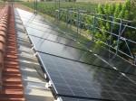 Impianto fotovoltaico nella campagna ravennate