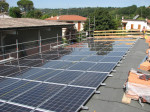 Impianto fotovoltaico sul capannone di un'azienda vivaistica faentina
