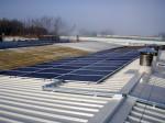 L'impianto fotovoltaico è stato realizzato nella zona industriale di Faenza