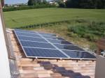 Impianto fotovoltaico sui coppi