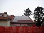 Impianto fotovoltaico sul tetto di un garage (Faenza)