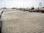 Prima dell'impianto: il tetto in eternit